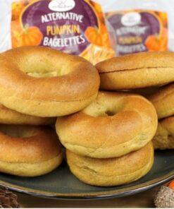 Alternative Pumpkin Bagelettes
