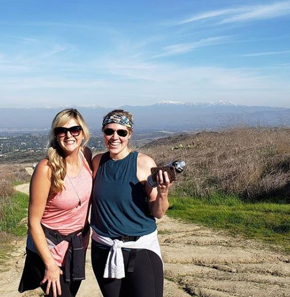 Cristi on a Hike